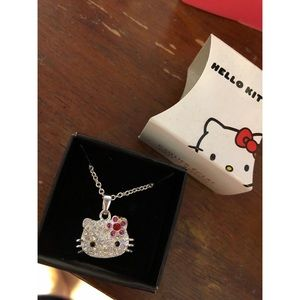 HELLO KITTY SLIVER NECKLACE